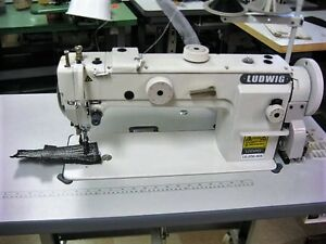 New Industrial Sewing Machine Walking foot Long arm longer Higher Work Bed