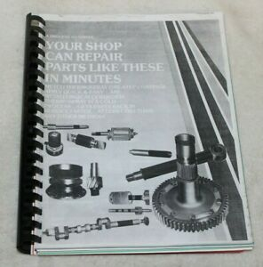 Metco Thermospray One Step Coatings Coating Recommendations Manual Rare