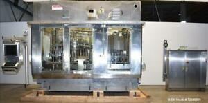 Used Hema Model Mrh 30 24 T24 Volufill 30 Head Rotary Piston Filler With Fords