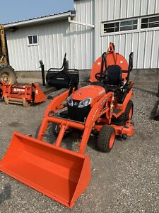 2020 Kubota Bx2380 W Loader 54 Mower Deck Unit Only Has 16 Hours