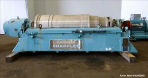 Used Sharples Ds 705 Super d canter Centrifuge 317 Stainless Steel Constructio