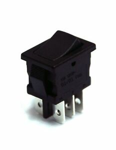 Philmore 30 16606 Dpdt On on 13x19 Mini Snap in Rocker Switch 10a 125v Ac
