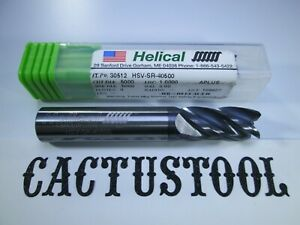 New Helical Solid Carbide 1 2 End Mill 4 Flute Edp 30512 Titanium Milling Tool