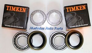 2 Rear Timken Wheel Bearing With Seal Set For 1997 2014 Jeep Wrangler