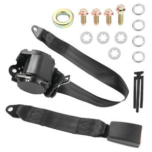 Bets Quality Abs Polyeste Steel 3 Point Universal Retractable Safety Seat Belt