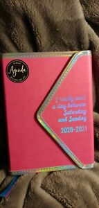 Bebe Hardcover Aug 2020 dec 2021 Daily Planner