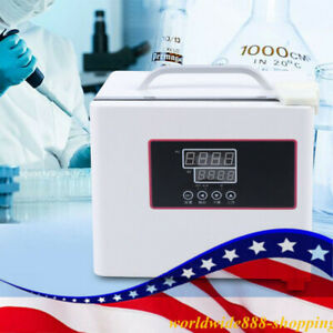 Portable Digital Display Incubator Electric Thermostat 6l Microbial 80w Usa