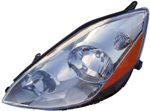 Fits 2006 2010 Toyota Sienna Driver Left Front Headlight Lamp Assembly Halogen