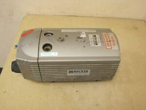 Becker Dt 4 16 Pump Oil less Rotary Vane Compressor Free Shipping