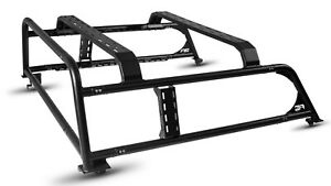 Body Armor 2016 2019 Fits Toyota Tacoma Overland Rack Black Fits 5 5 Beds