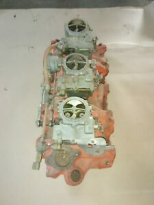 Chevy 348 Tripower 3x2 Intake B1258 With Carbs 348 Or 409