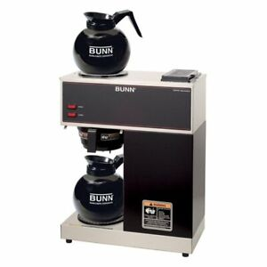 Bunn Vpr 12 cup Commercial Pour over Coffee Maker With 2 Glass Free Shipping