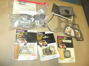 Holley Carburetor 750 600 Parts Lot Racing Rebuiild Track Pack Hot Rod