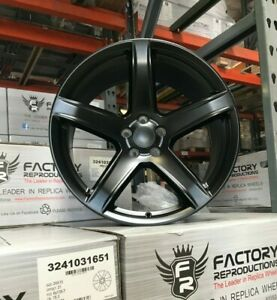 Fits 20 9 5 11 Hc2 Satin Black Indy 500 Tires Wheels Rims Challenger Charger