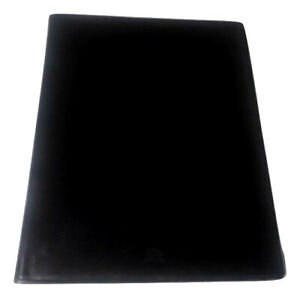 Mark Cross Black Leather Portfolio Padfolio Made In Italy