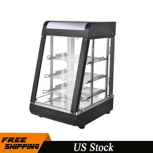 15 Commercial Food Warmer Court Heat Food Pizza Display Warmer Cabinet 3 tier
