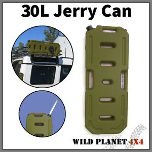30l Jerry Can Heavy Duty Fuel Container Spare Container Army Green