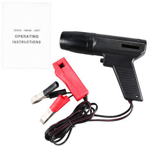 0 40c Interchangeable Car Inductive Timing Light Tester Engine Timing Xenon Us