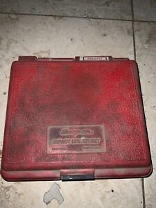 Snap On Impact Driver Pit120 With 2 Socket Drivers And Case