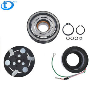 Ac Compressor Clutch Kit Pulley Coil Plat For 2001 2005 Honda Civic 4 Cyl 1 7l