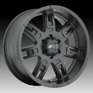 Mickey Thompson Sidebiter Ii Matte Black 16x8 6x5 5 0mm 90000019386