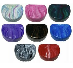 3 Pack Marble Retainer Cases Different Colours