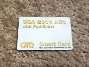 Otc Smart Card Usa 2004 Abs With Pathfinder Software Genisys Update