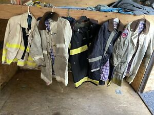5 Fire Department Bunker Coat Turnout Coat Nyfd Chief s Bunker Coat Size 42