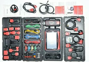 Nice Snap on Verus Pro D10 Automotive Diagnostic Scan Tool Scanner Set Extras