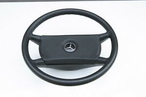 Original W 123 Mercedes Steering Wheel Good Condition Complete With Horn