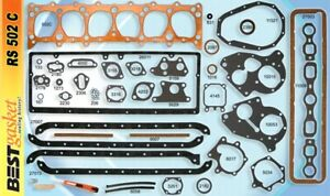 Chevy 6 Cyl 1937 53 216 235 Full Engine Copper Gasket Set Chevrolet Head