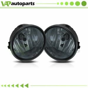 Smoked Fog Lights Driving Bumper Lamp bulbs For Ford F150 Truck 2006 2010