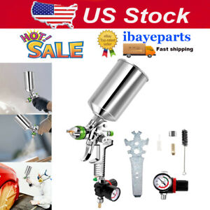 Car Vehicle Air Paint Spray Gun Painting 2 5mm Nozzle Automotive Sprayer Tools