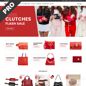 Bag Shop Turnkey Dropshipping Store Professional Premade Website Business