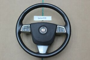Oem 2009 12 Cadillac Srx 2008 12 Cts Cocoa Leather Steering Wheel Airbag
