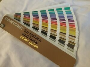 Pantone Color Guide For Fashion And Home isbn 159065001 8