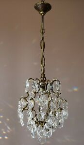 Antique French Style Vintage Crystal Chandelier Pendant Light Home Lighting Lamp