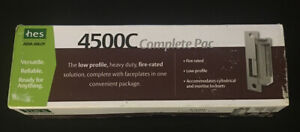 Hes 4500c 12 24d 630 Mortise Or Cylindrical Lock Electric Strike Complete Pack