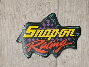 2 Vintage Snap On Tools Snap On Racing Tool Box Sticker Decal 4 3 4 Inches Wid