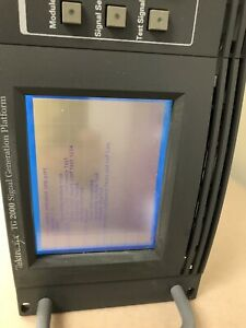 Tektronix Tg2000 Video Generator W Hdvg1 avg1 bg1