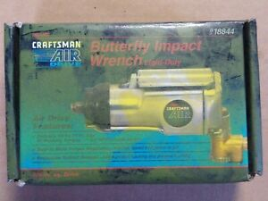 New Craftsman 3 8 Butterfly Impact Wrench