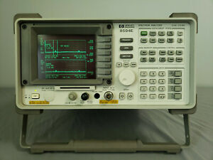 Hp Agilent 8594e 9khz 2 9 Ghz Portable Spectrum Analyzer