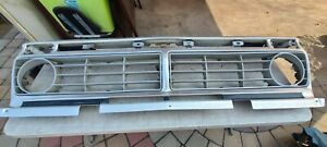 1976 Ford Truck F150 Complete Front Grille Oem 76