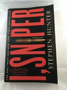 I SNIPER: A BOB LEE SWAGGER NOVEL By Stephen Hunter PB $8.00