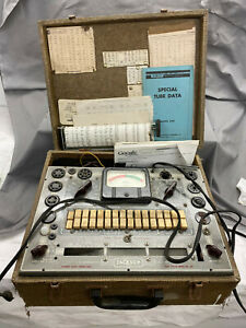 Vintage Jackson Radio Testing Equipment Tube Tester Model 648