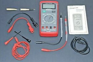Nice Snap on Digital Volt Multimeter 10a Amp Cat Iii 600v Ac dc Max Eeddm503d