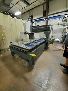 Used 2011 Haas Gr 510 Cnc Gantry Router Vertical Machining Center Mill 10k Rpm