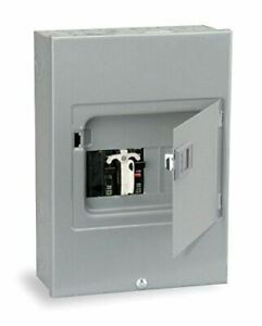Square D By Schneider Electric Qo 60 Amp 4 space 8 circuit Generator Panel Surfa