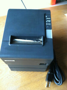 Epson Receipt Pos Printer Tm t88iv M129h Parallel serial Ps 180 Complete