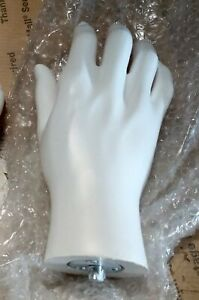 Less Than Perfect Mn handsm White Right Male Mannequin Hand Display